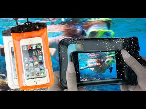 low priced 41ea0 b2bdc Waterproof Smartphone Cases review : IPX8