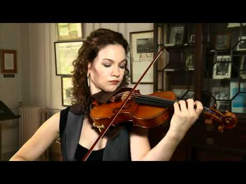 Hilary Hahn - Bach Sarabande (HD)