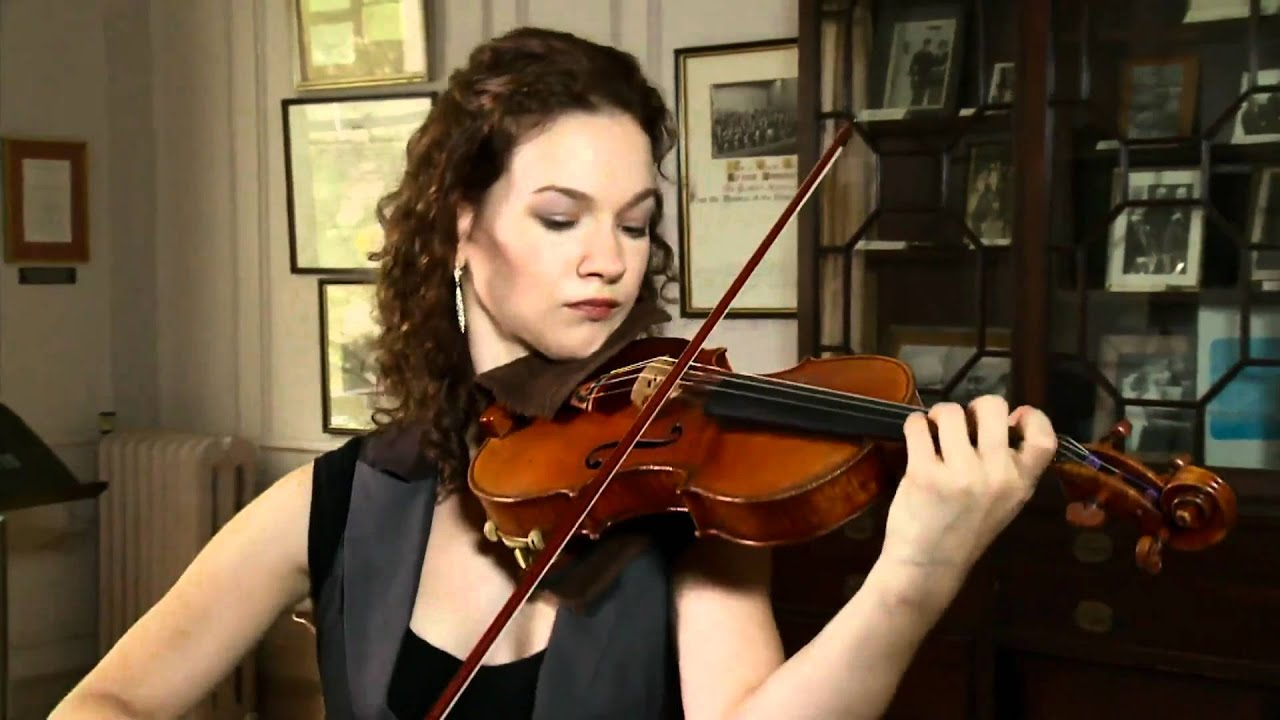 Hilary Hahn - Bach Sarabande (HD) - YouTube