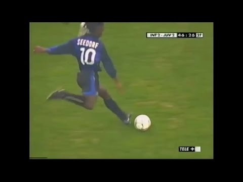 Clarence Seedorf vs JUVENTUS in 2001-02 Serie A Round 26 (09.03.2002)