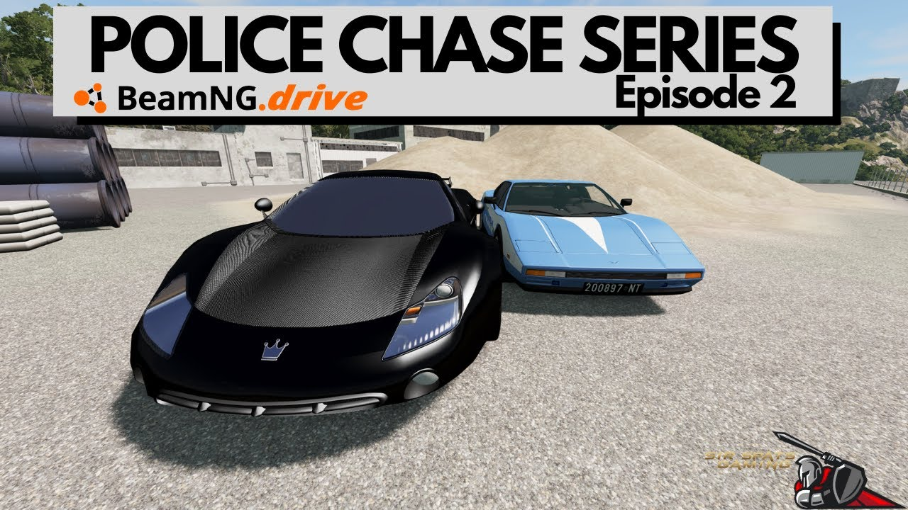 Download BeamNG Drive Police Chase Series Episode 2