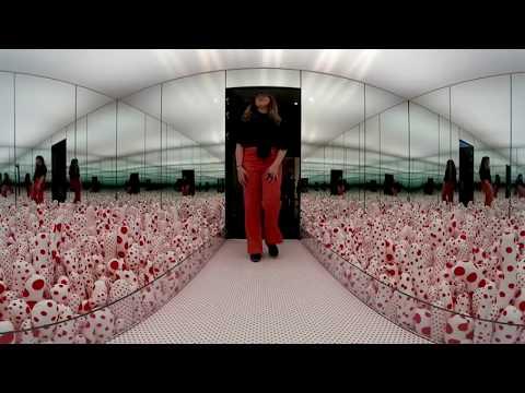 "Experience ""Yayoi Kusama: Infinity Mirrors"" in 360 degrees"