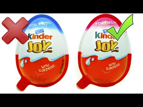 KINDER JOY BOYS vs KINDER JOY GIRLS