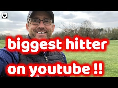 this lad can hit a golf ball as far as any youtuber boom the ball