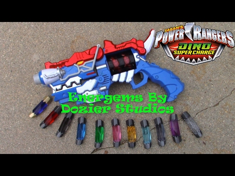 Power Rangers Dino Super Charge Energems By Dozier Studios Review