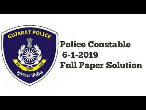 Police Constable 6-1-2019 Full Paper Solution | ACADEMY FOR COMPETITIVE EXAM [ ACE ]