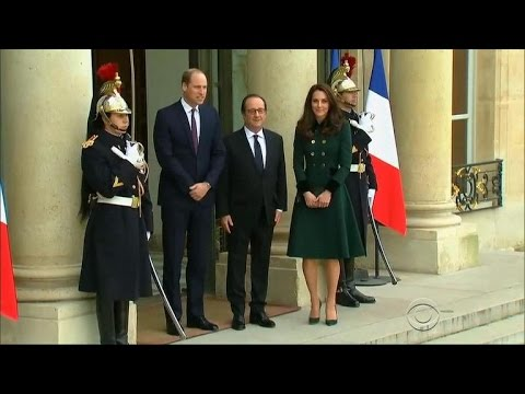 Prince William makes first official visit to Paris since the death of his mother Princess Diana