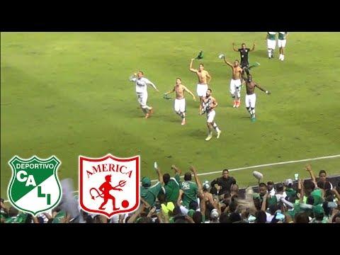 CLÁSICO - Deportivo Cali vs America 2-0 SemiFinal Liga Aguila 2017