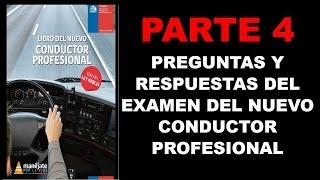 (PARTE4) prueba o examen del nuevo conductor profesional, para licencia de conducir A2,A3,A4 Y A5
