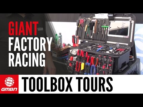 Giant Factory Racing's Dave Garland's Pro Mechanic Toolbox Tour