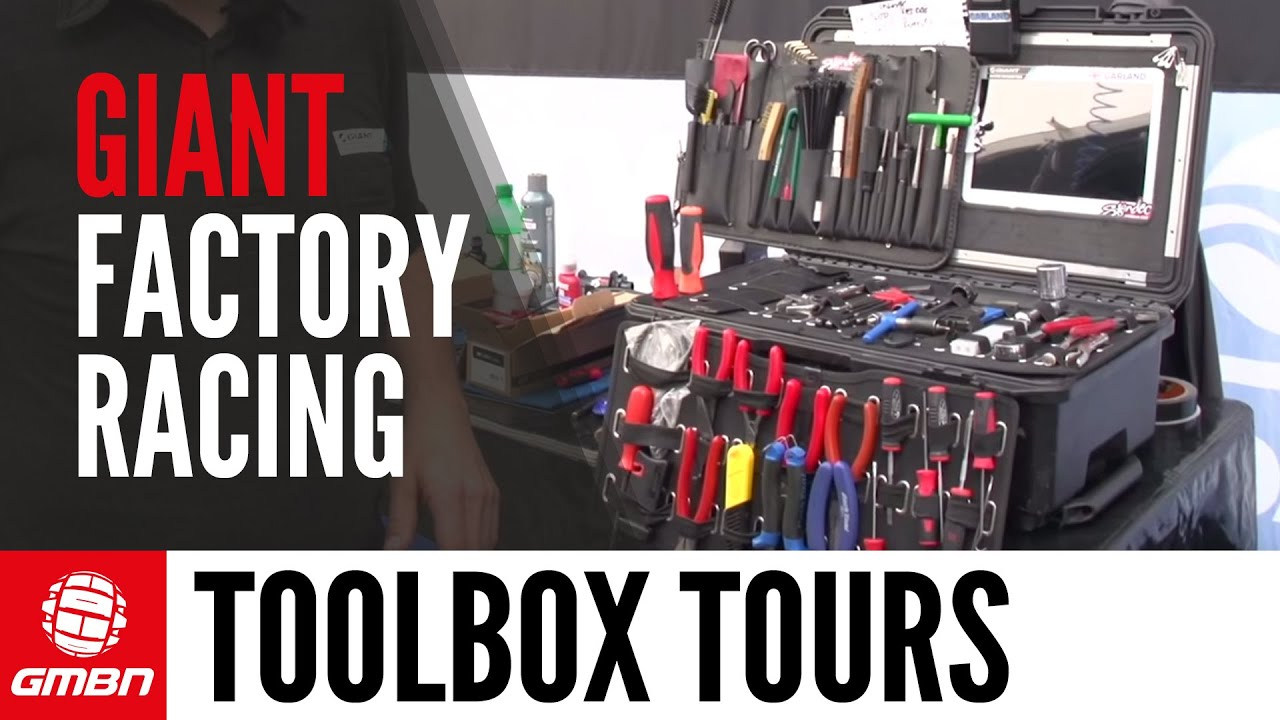 Giant Factory Racing S Dave Garland S Pro Mechanic Toolbox