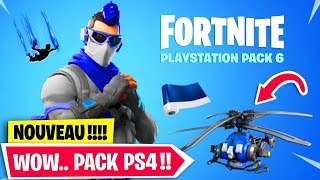 VOICI THE NEW PACK PS4 on FORTNITE!!