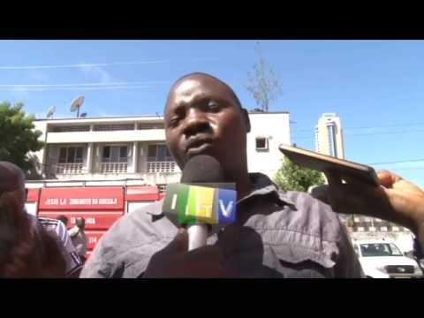 Moto wazuka katika jengo la NSSF Water Front jijini Dar es Salaam