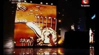 Победительница Украина мае таланты рисует на песке(Ukraine May Pobeditlnitsa talent draws in the sand., 2012-09-25T14:41:12.000Z)