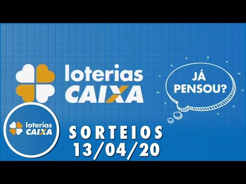 Loterias Caixa: Quina e Lotofácil 13/04/2020