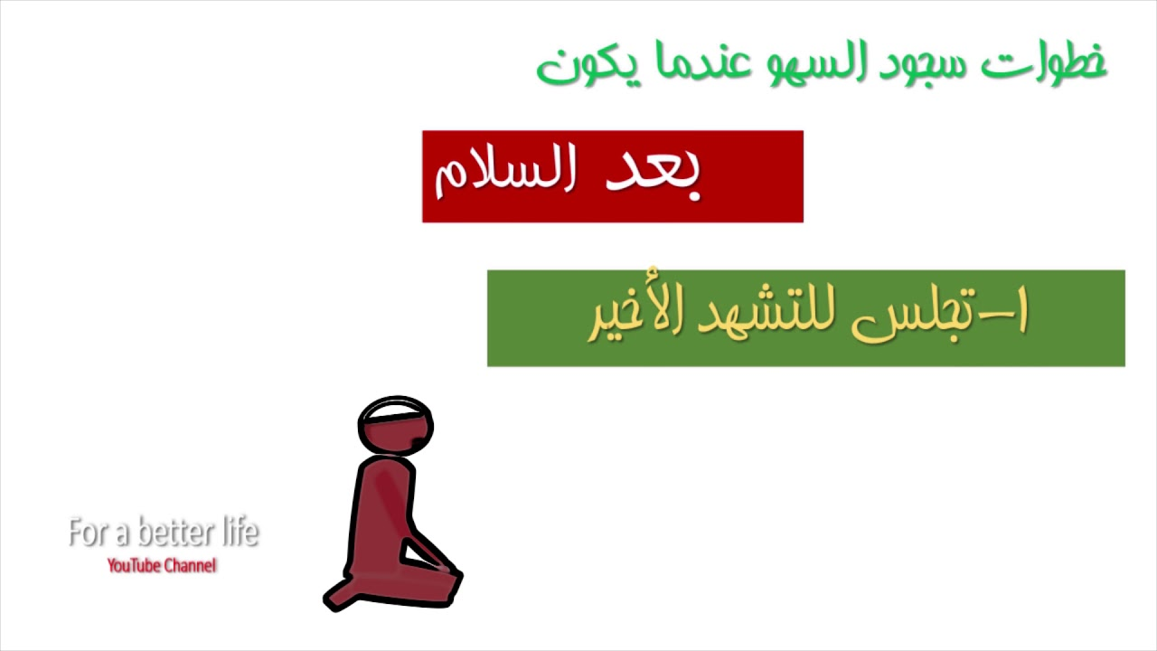 سجود السهو خطوة خطوة I الجزء الثاني Youtube