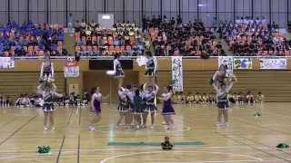 正智深谷 松川杯スポーツ大会 チアリーディング部