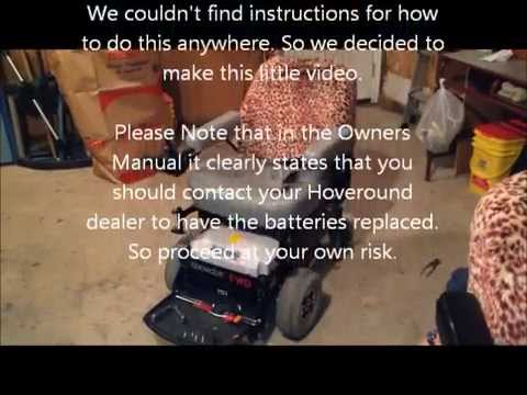 Hoveround Teknique Fwd Battery Replacement Youtube. Hoveround Teknique Fwd Battery Replacement. Wiring. Motor Wiring Diagram Hoveround At Scoala.co