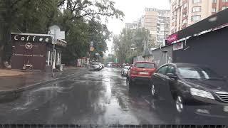 Урок вождения в осенний дождик
