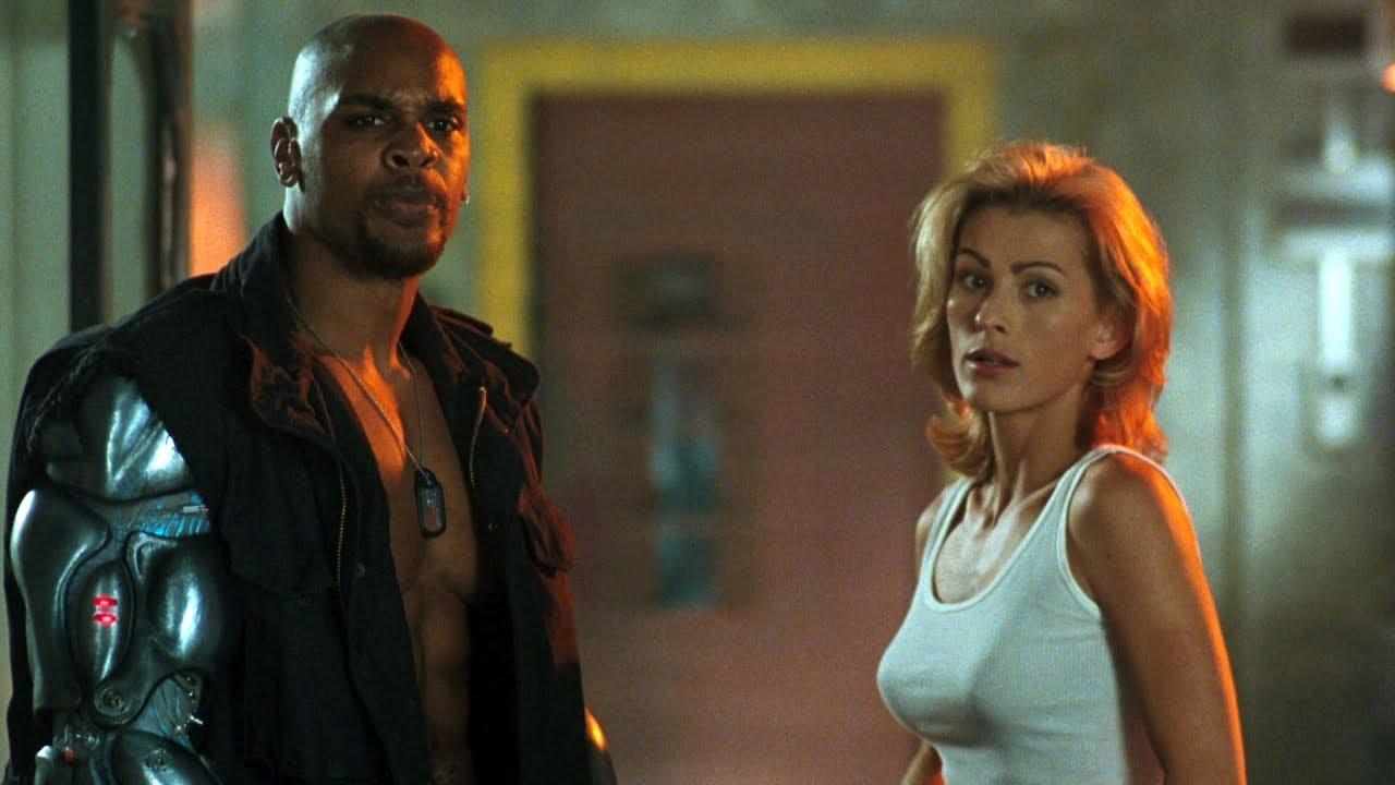 Jax Sonya Blade Vs Cyrax Mortal Kombat Annihilation 1997