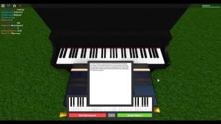 how to play faded in roblox piano