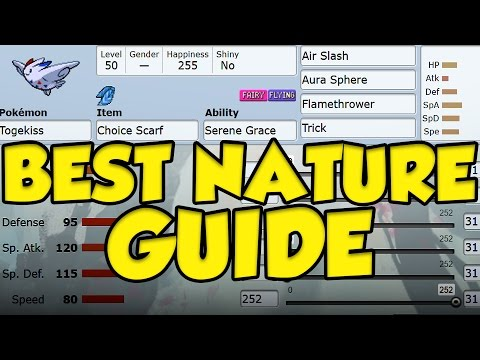 Pokemon Sun And Moon Guide For The Best Nature!