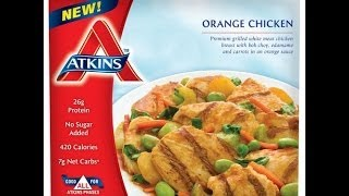 Atkins Diet Product Reviews: Orange Chicken Frozen Meal