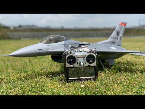 通販で買ったF16ラジコン飛行機を飛ばしてみた