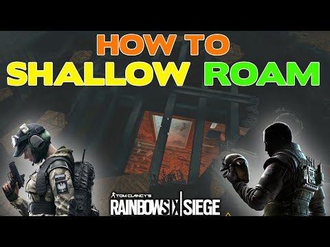 Rainbow Six Siege Tips || How to SHALLOW ROAM (Lurking)