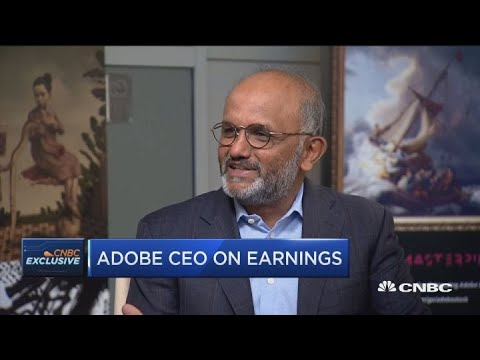 Adobe CEO on earnings, future of Adobe and the financial crisis