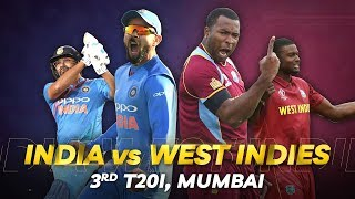 Cricbuzz LIVE: India v West Indies, 3rd T20I, Pre-match show