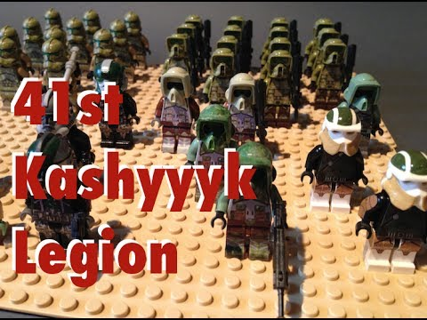 New 2014 Lego Star Wars Kashyyyk Trooper Army Legion with Customs