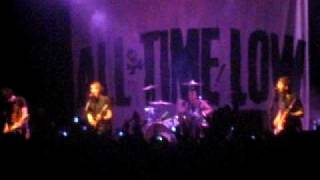 All time low - Dear Maria, Count me in live Milano