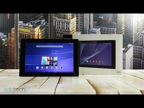 Sony Xperia Z2 Tablet Unboxing und Eindrücke | tabtech.de