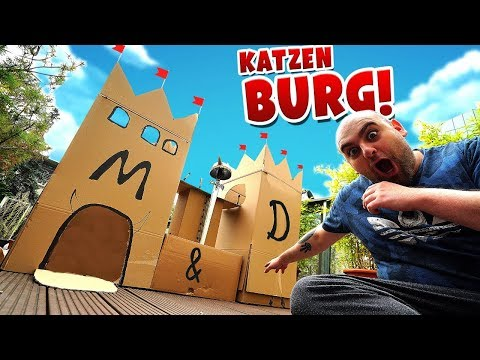 WIr bauen XXL Burg !