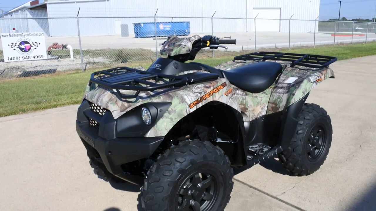hight resolution of sale 8 599 2018 kawasaki brute force 750 camo overview and review