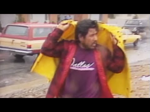 Historic Footage: Loma Prieta Earthquake: Watsonville Victims Scared To Enter Buildings