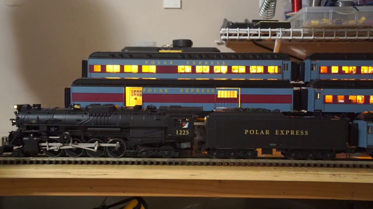 Lionel Legacy Polar Express Leds Demo Youtube