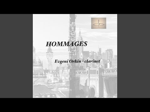 Hommage á George Gershwin for Clarinet Solo