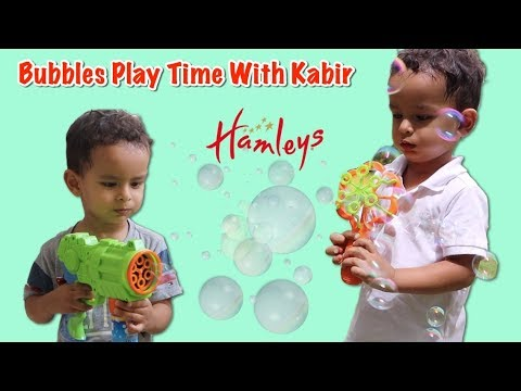 hamleys-bubbles-play-time-with-kabir-|-unboxing,-review-&-pretend-play