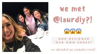 WE MET LAURDIY (LAUREN RIIHIMAKI) AT JOURNEY'S AND CONVERSE OFF TO PROM EVENT IN NYC!