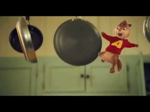 alvin and the chipmunks cheese balls get in my belly staying alive mix