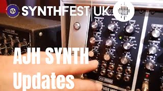 Synthfest 2018 - AJH Synth New Phaser and Other Modules