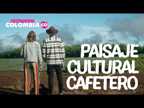 The Colombian Coffee Cultural Landascape with British Influencers