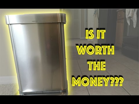 Simplehuman Trash Can Review | 45L 11.9Gal