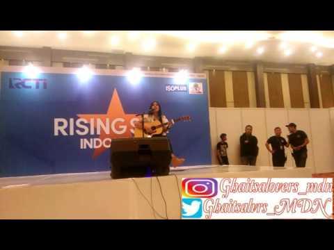"Ghaitsa Kenang - Dear No One ""Audisi Rising Star Indonesia"" Medan (24 September 2016)"
