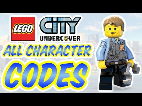 Lego City Undercover All Character Codes Youtube