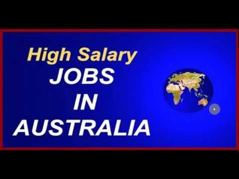 High Salary Jobs In Australia//New Job Openings In Australia//Latest Job Openings In Australia