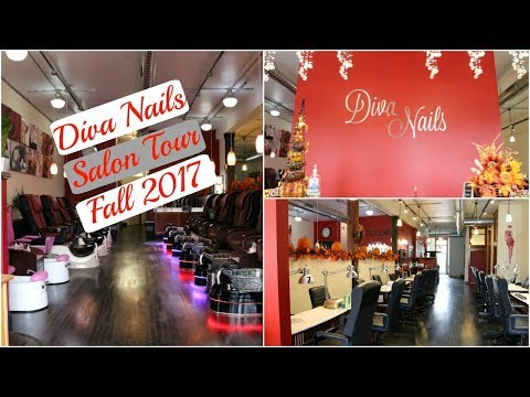 Diva Nails Salon Tour // Fall 2017