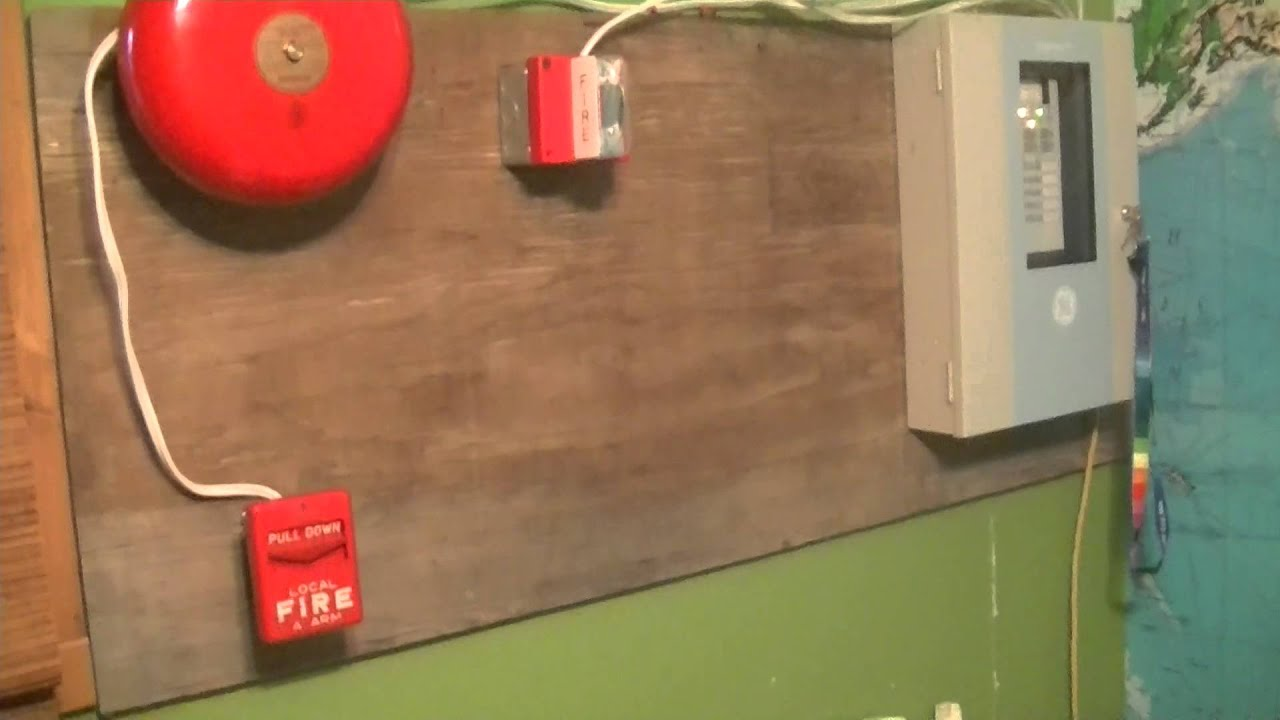 Fire Alarm System Test 1  YouTube